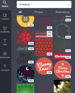 Canva Christmas Graphics